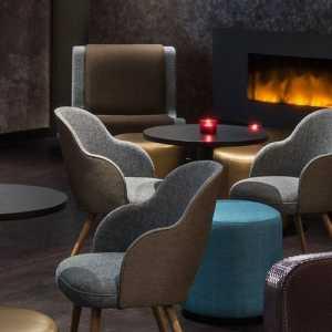 银灰柔软舒适现代三居卧室130平米三室两厅两卫装修效果
