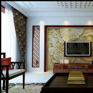 大气中式古典客厅效果图