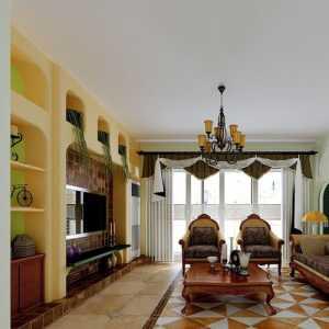 客厅玻璃酒架装修效果图