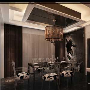 黑与白 简约大气餐厅