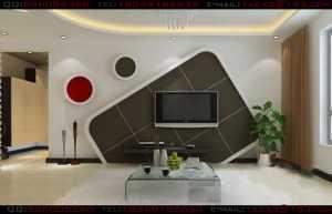 来自外空间创意的客厅电视墙