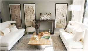美式田园风格客厅装修需要注意什么