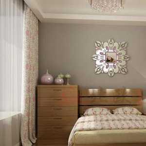卧室家具简约家具盆栽装修效果图