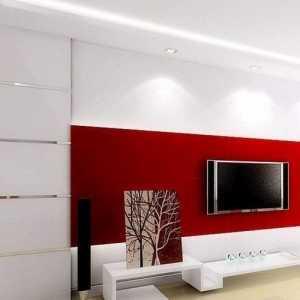 夏日电视背景墙