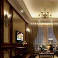 别墅走廊玻璃砖隔墙装修效果图