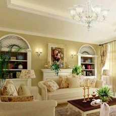 奢華客廳歐式燈具裝修效果圖