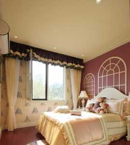 复式楼书架卧室吊顶卧室装修效果图
