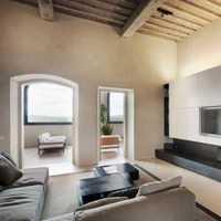 一室一廳簡約小戶型客廳樣板房設計