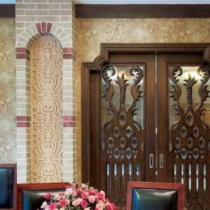 二居室TT精工地中海风格小户型经济型70平米餐厅餐厅背景墙餐桌婚房平面图效果图