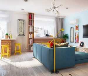 现代风格公寓卧室鹅*背景墙装修设计