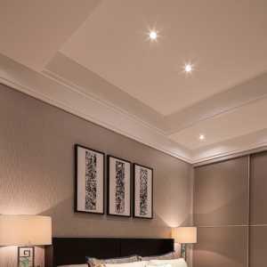 臥室背景墻隔斷現代簡約臥室裝修效果圖