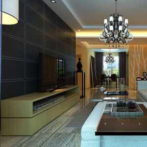 1075平米的电视墙木工板造型3700元贵不贵3745平米的客厅