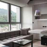 整洁浅色系现代起居室装修效果图