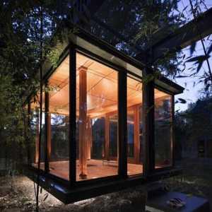 别墅单人沙发书房书房吊顶装修效果图