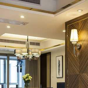 隔斷吊頂簡約現代風格客廳裝修效果圖