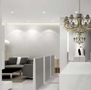 100平米超奢華公寓過道設計裝修效果圖