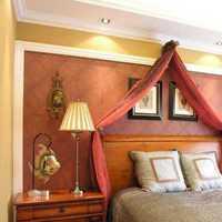 吊灯大户型卧室窗帘装修效果图