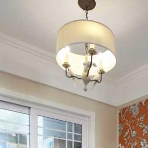 室內臺燈復古風裝修效果圖