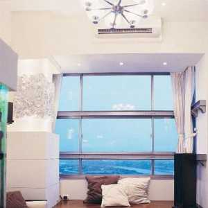 装饰画转角沙发现代简约茶几地毯客厅吊灯君河湾138平客厅沙发背景墙装修效果图