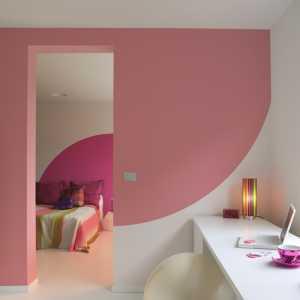 现代三居室时尚客厅电视背景墙装修效果图