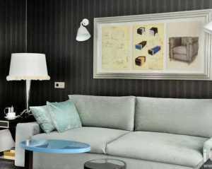 現代簡約一居室客廳裝修效果圖大全