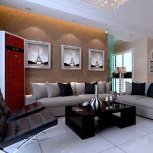 簡約大氣實用的客廳效果圖