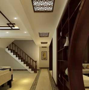 中式大宅 豪华大气客厅