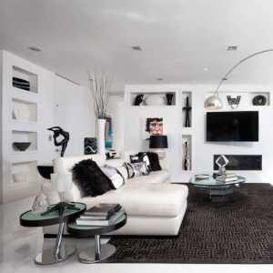 80平小戶型室內家具擺設裝修效果圖