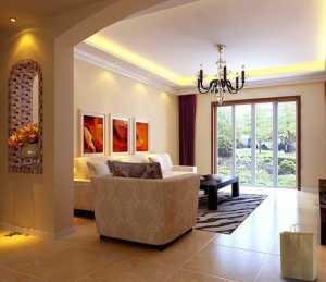 白色系大气欧式客厅设计