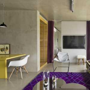 创意家居客厅三居小户型装修效果图
