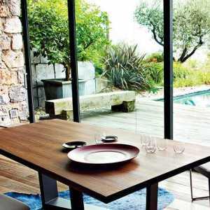 简约现代风格一居餐厅设计图片效果图