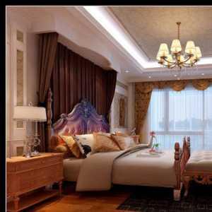 壁纸实木卧室装修效果图