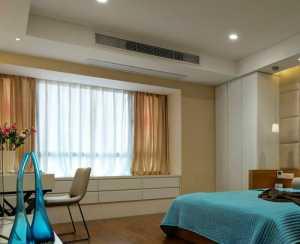 清新可爱现代三居卧室130平米三室两厅两卫装修效果