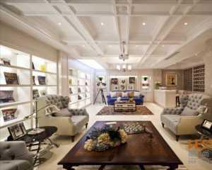 90平米三室客厅装修图