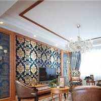 客厅吸顶灯贴饰客厅吊顶装修效果图