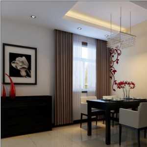 鲜明的色彩7万打造126平米3居室