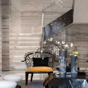 别墅唯美现代简约收纳柜装修效果图