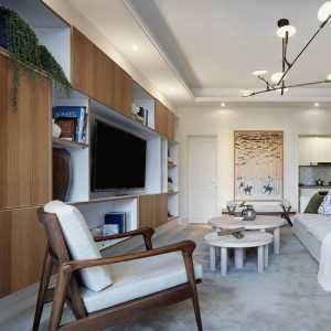 雅致现代简约多彩别墅客厅