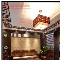 现代高雅暖色客厅三居装修效果图