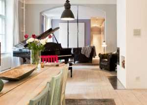 婚房90平米二居室餐厅装修效果图