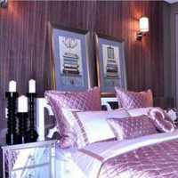 二居室灯具卧室背景墙地台装修效果图