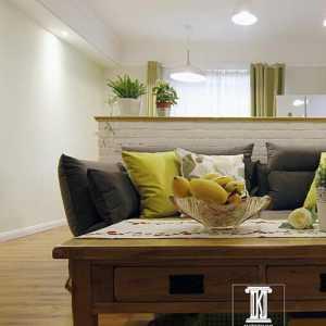 現代簡約一居室臥室窗簾裝修效果圖大全