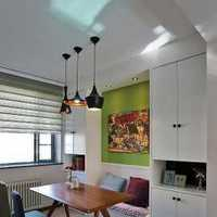 餐厅壁纸三居吸顶灯装修效果图