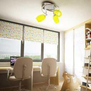 混搭風格三居室臥室裝修效果圖,混搭窗簾圖片