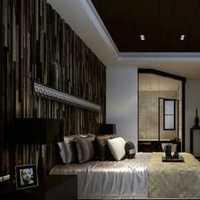 卧室二居卧室壁纸美式乡村装修效果图