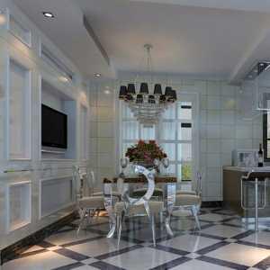 时尚白色 大气实用餐厅厨房