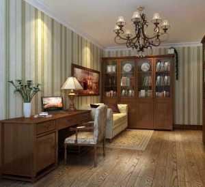 书房沙发中式沙发别墅装修效果图