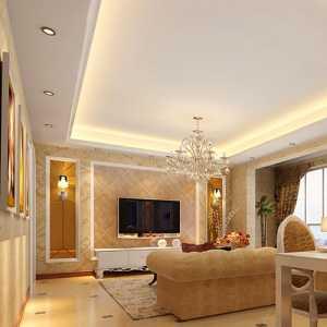 東南亞混搭風格兩室一廳戶型裝修效果圖