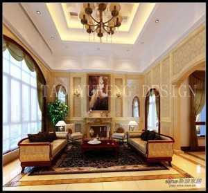 《醉宜居》江西南昌万达城94平米现代风格设计品蓝设计工厂装修效果图
