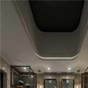 85平方美式田園風格客廳過道設計裝修效果圖